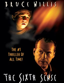 movie poster of the sixth sense